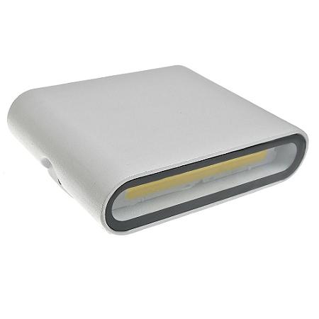 Luminária Arandela LED 10W Branco Quente Externa