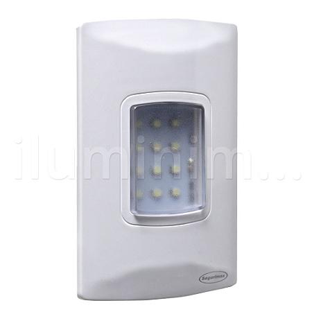 Luminária de Emergência 100 Lúmens | Embutir
