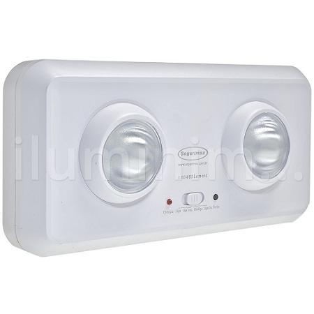 Luminária de Emergência 400 Lúmens | Premium