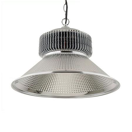 Luminária Industrial LED High Bay Light 50W Branco Frio