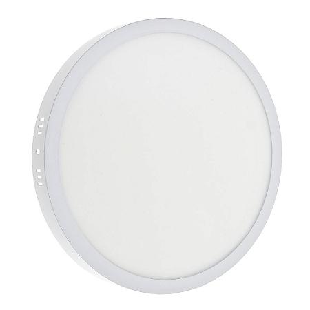 Luminária Plafon 32w LED Sobrepor Branco Frio