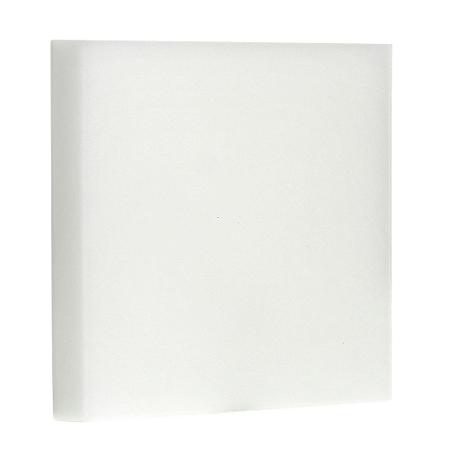 Luminária Plafon LED 12W Embutir Quadrada Branco Frio Borda Infinita