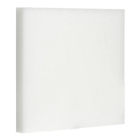 Luminária Plafon LED 24W Embutir Quadrada Branco Frio Borda Infinita