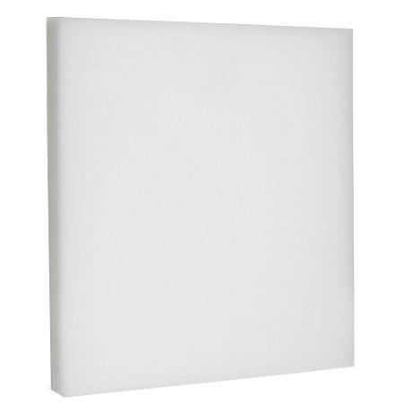 Luminária Plafon LED 36W Embutir Quadrada Branco Frio Borda Infinita