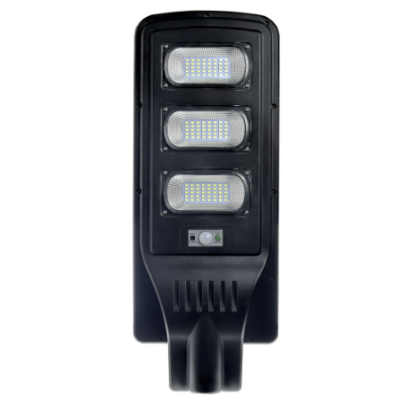 Luminária Pública Solar LED 60w Branco Frio com Sensor