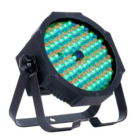 Refletor Holofote LED Par64 RGB Digital 60 Leds para Festa