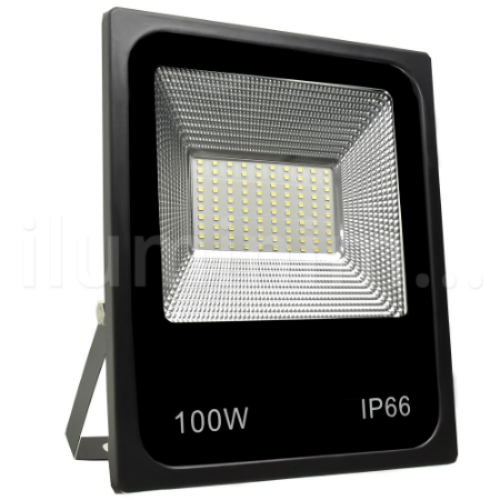 Refletor Holofote MicroLED 100W Branco Quente