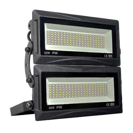Refletor LED Industrial Modular 100W Branco Frio