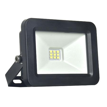 Refletor MicroLED Ultra Thin 20W Branco Frio Black Type