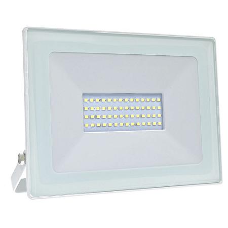 Refletor MicroLED Ultra Thin 50W Branco Frio White Type
