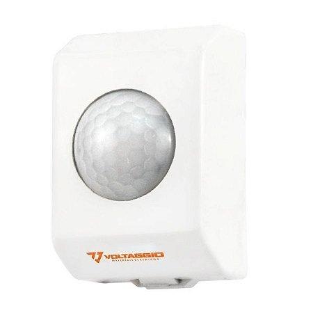 Sensor de Presença de Teto Sobrepor 380º Bivolt