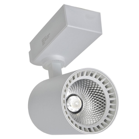 Spot LED 18W Branco Frio para Trilho Eletrificado Branco