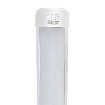 Tubular LED Sobrepor Completa 10W 30cm Branco Quente | Inmetro