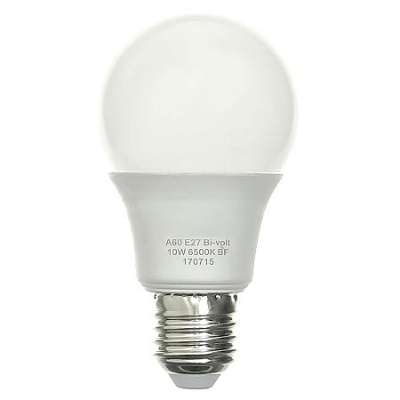 Lâmpada Bulbo LED A60 10W Bivolt Branca - Amarela | Inmetro