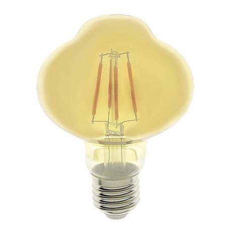 Lâmpada LED Globo Vintage 2,5w L80 Branco Quente