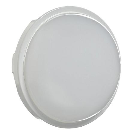 Luminária Arandela LED Redonda 15W Bivolt Branco Quente