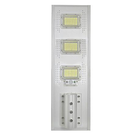 Luminária Pública Solar LED 150w Branco Frio com Sensor