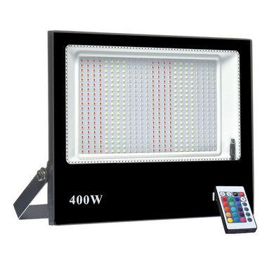 Refletor Micro LED Ultra Thin 400W RGB Colorido com Controle