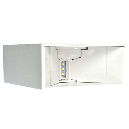 Luminária Arandela LED 4W Aro Branco Branco Neutro