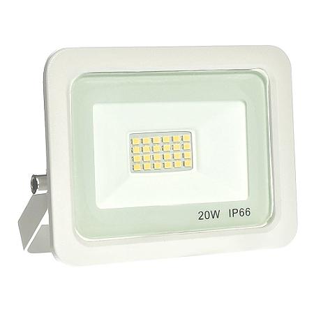 Refletor MicroLED Ultra Thin 20W Branco Quente White Type