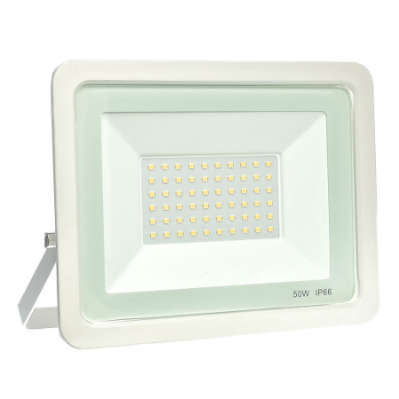Refletor MicroLED Ultra Thin 50W Branco Quente White Type