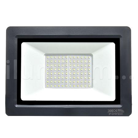 Refletor MicroLED Ultra Thin 200W Verde Black Type
