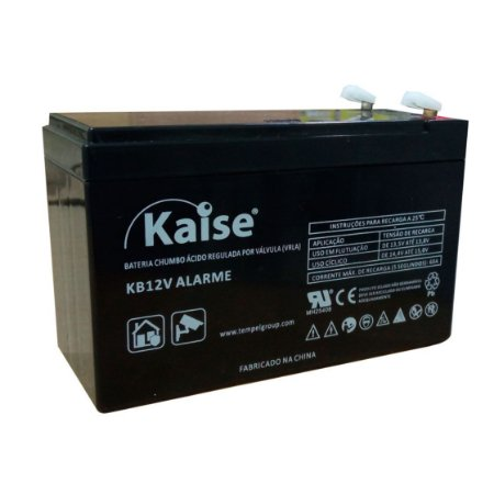 Bateria Selada 12V, 4Ah, Alarmes e cercas elétricas - Kaise