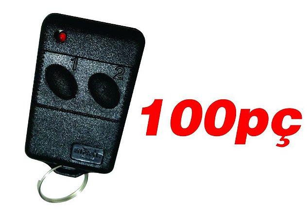 Controle remoto para portão de garagem 433mhz duplicador 100pç