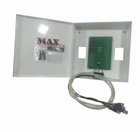 Rack Cftv Organizador De Cabos 4 Canais - Max Eletron