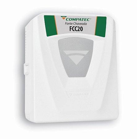 Fonte carregadora de bateria Fcc20 - Compatec