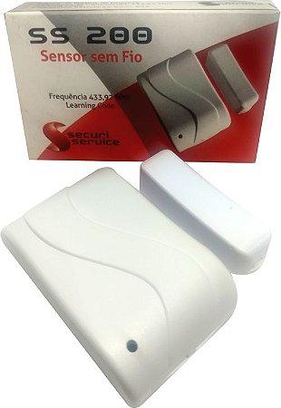 Sensor Magnético s/fio SS200 - Security Service