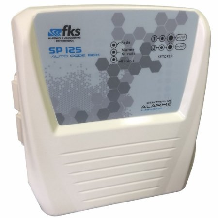 Central de Alarme SP125 FC02 - 2 zonas - FKS