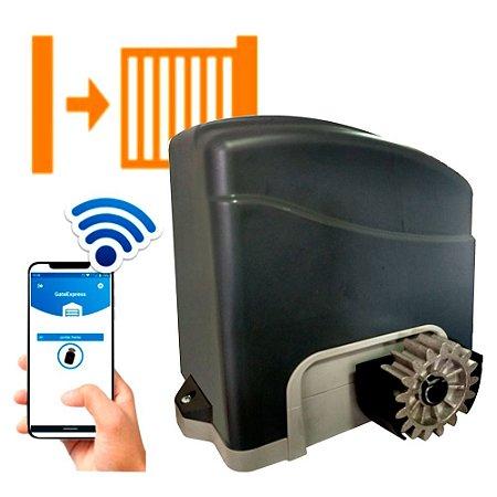 Movimentador De Portão Deslizante Trino Wifi 300kg 220v Agl