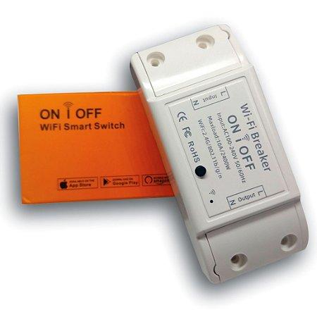 Relé Wifi Interruptor Automação Residencial - Nova Digital