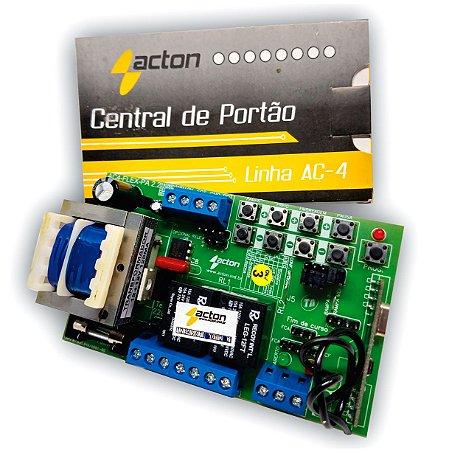 Placa Central Eletrônica 433mhz com Rampa, Freio e embreagem - Acton
