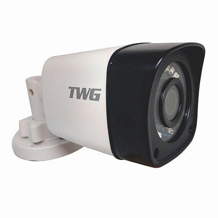 Câmera Bullet 25m 1080p Infra 2,8mm Plástica IP66 - TWG