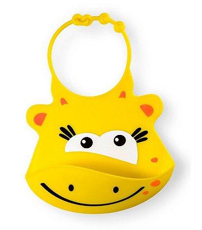 Babador de Silicone Silybib Girafa Multikids Baby