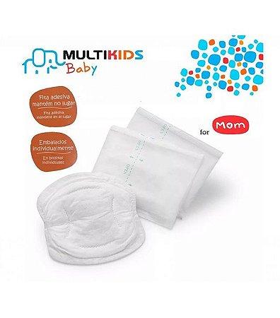 Absorvente Descartável para Seios 12 Und - Multikids Baby