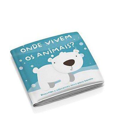 Livrinho Educativo de Banho Animais - Multikids Baby