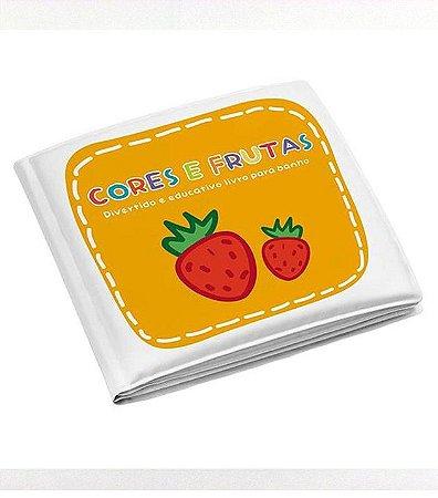 Livrinho Educativo de Banho Frutas -Multikids Baby