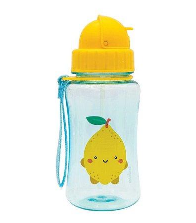 Garrafinha com Canudo Frutti Limão (400ml) - Buba Baby