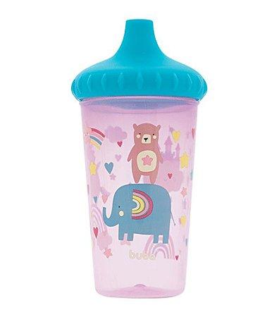 Copinho Antivazamento Rosa B300 ml - Buba Baby