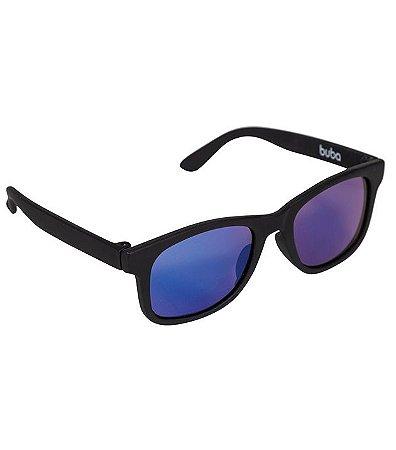 Óculos De Sol Preto - Armação Flexível - Buba Baby