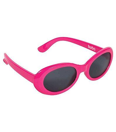 Óculos De Sol Rosa Pink - Armação Flexível - Buba Baby