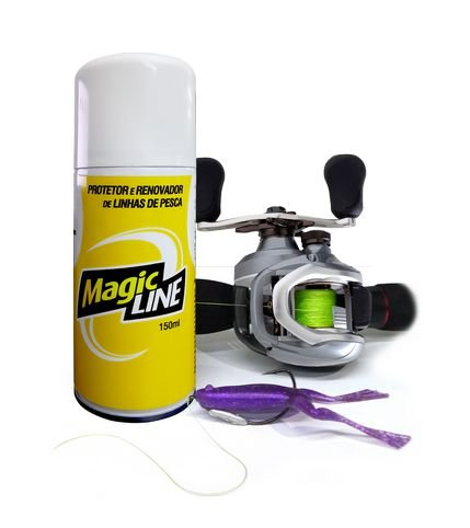 Spray Magic Lure Renovador de linha de pesca