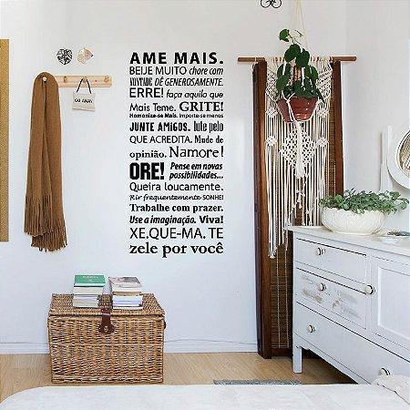 Ame Mais - Adesivo Decorativo 45x100 cm