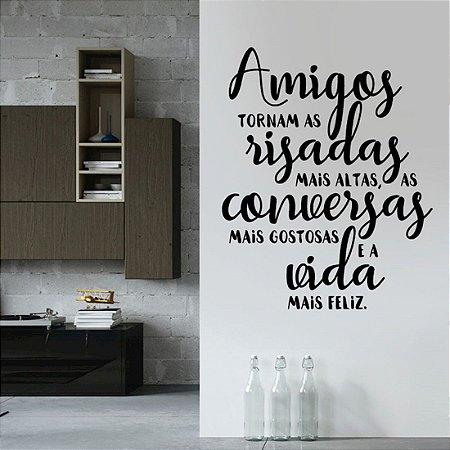 Amigos - Adesivo Decorativo 51x71 cm