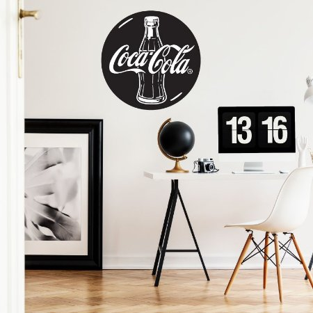 Botton Coca-Cola - Adesivo Decorativo 45x45 cm