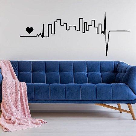 Eletric City - Adesivo Decorativo 100 x 40 cm