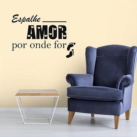 Espalhe o Amor - Adesivo Decorativo 75 x 40 cm